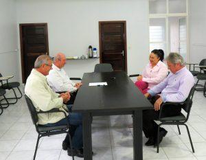 Deputado Silvio Dreveck conversa com diretoria da Associação rio-negrinhense